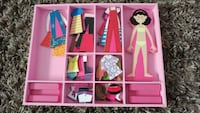 Magnetic dress up doll Edmonton, T5Y 3B3