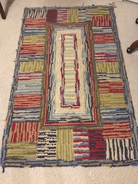 3' x5' Pottery Barn Kids, red, and blue area rug Ellicott City, 21042