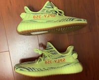 Adidas Yeezy 350 Frozen Yellow size 9.5 Annandale, 22003