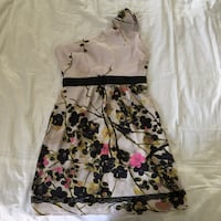 white and black floral spaghetti strap dress Fairfax, 22033