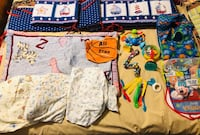 Assorted Baby bedding and feeding items Weslaco, 78599