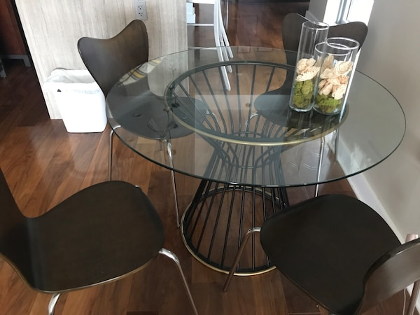 Selling 4 West Elm Wooden Dining Room Chairs 50 Chair