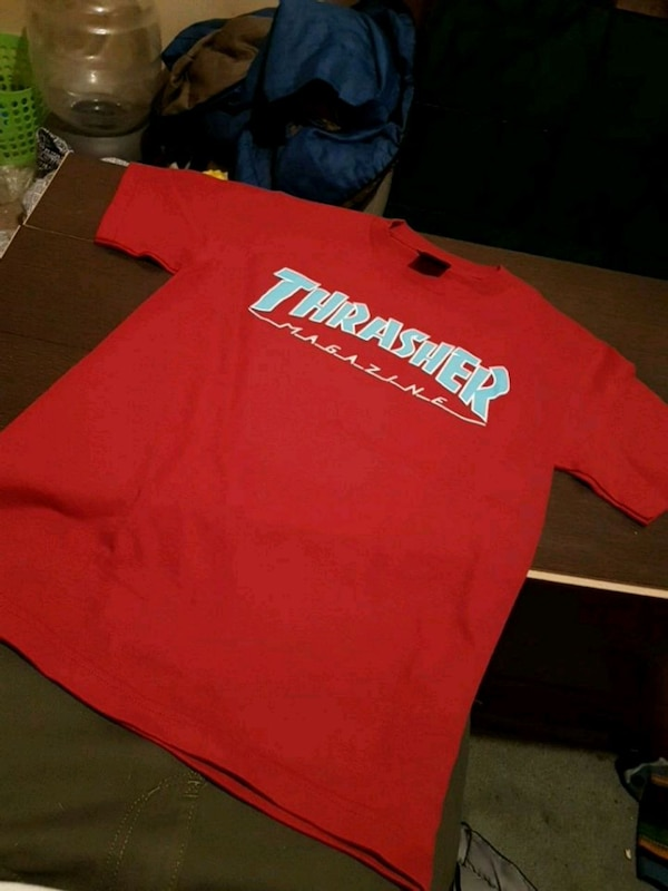 4b780fd7384d Used Brand new red and blue Thrasher shirt  20 for sale in Brantford - letgo