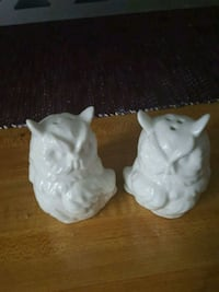 two white ceramic elephant figurines Pawtucket, 02860
