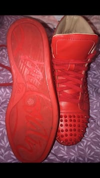 Size 9 red louboutins asking $900!! Good condition   Beltsville, 20705