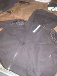 black zip-up hoodie 2669 km