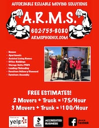 Movers Tempe, 85281