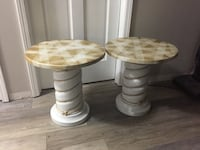 two brown wooden side tables Jacksonville, 32216