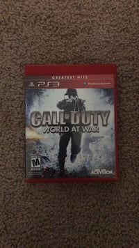 Call of duty  world at war ps3  Lubbock, 79416