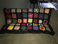 Granny square.  BLACK and gold coming soon and so is Xmas!  Great gift, new 929 mi