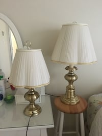 Classic lamps set of two