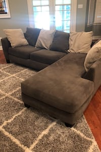 Living room set with sectional and swivel chair. Saint Rose, 70087