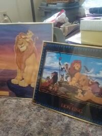 lion king framed posters  132 mi