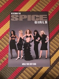 Spice Girls World Tour concert program Toronto, M2M 2A3