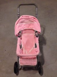 baby's pink and black stroller Chantilly, 20152