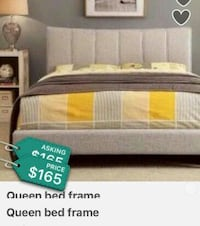 yellow and grey bedspread