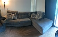 Gray Sectional w/ Loveseat Frederick, 21702