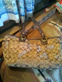brown coach leather tote bag Phoenix, 85022