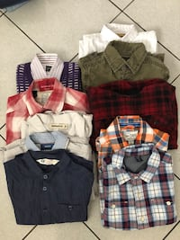 Name brand Boys button up shirts - size 4-5 years  Toronto, M3M 2R4