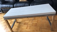 Small bench, color white Vaughan, L6A 2T5