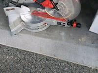 red and gray miter saw Surrey, V3S 7R5