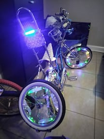 Custom Louis Vuitton lowrider bike