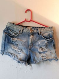 Denim korte shorts Oslo, 0861