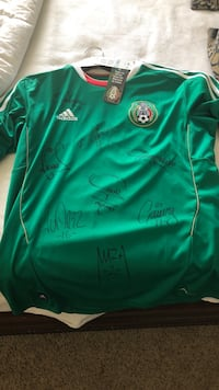 Mexican National Team Jersey - autographed Whittier, 90603