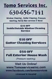 Window cleaning Lombard, 60148