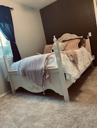 Bed Frame, Night Stand, Desk with Chair & Bookshelf Temecula, 92590