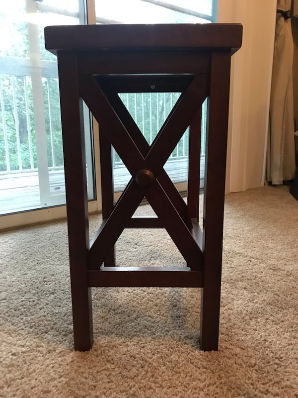 Wooden end table or stool 0