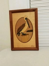 Penguin wood picture Raleigh, 27604