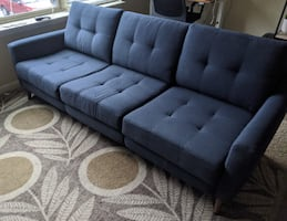 Burrow sofa - couch
