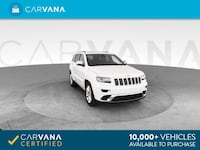 2014 *Jeep* *Grand* *Cherokee* Summit Sport Utility 4D suv White Downey