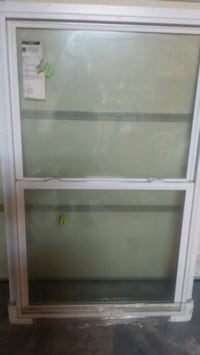clear glass sash window with white steel frame Sicklerville, 08081