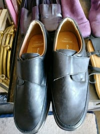 pair of black leather dress shoes size 10 Mesa, 85201