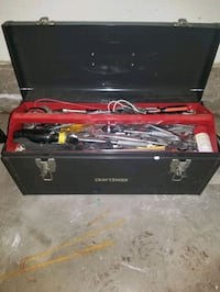 Craftsman Tool Box With Random Tools