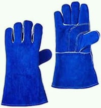 Leather welding gloves new 5$ pair New Westminster
