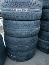 275/40R20 set of 4 $35 per tire Calgary, T2V 2X4
