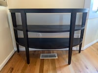 Crate & Barrel console table