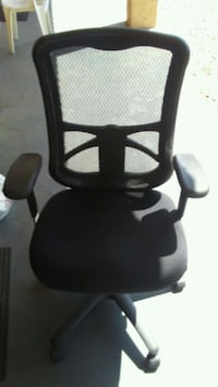 black and gray rolling armchair Mesa, 85201