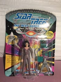Lot of 3 MIB Playmates Star Trek action figures Yorktown Heights, 10598