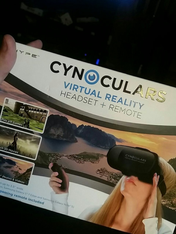 11ae7eab3c6a Used Cynoclulars virtual reality headset boxc for sale in Morgan Hill