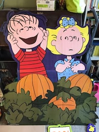 Great pumpkin Charlie Brown Halloween party set  Orange, 92868