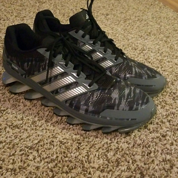 595c7adb1351 Used Adidas Springblade Gray Camo Size 12 for sale in Tyler - letgo