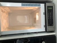 gray and black Panasonic microwave oven 45 km