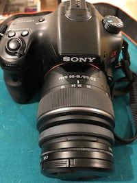 LOCAL ONLY - Sony Alpha 65 Bundle with Two lenses! 39 km