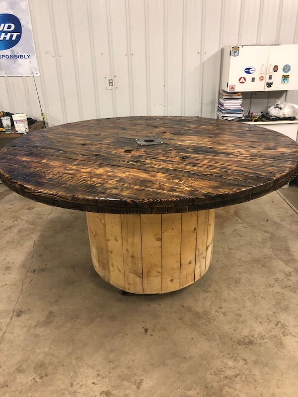 Miraculous 84 Wooden Wire Spool Table Best Image Libraries Sapebelowcountryjoecom