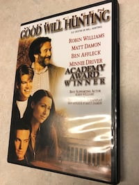 Good Will Hunting movie DVD case
