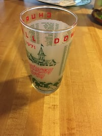 1971 Vintage Collectible Kentucky Derby Glass Springfield, 22153